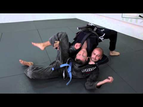 Loop choke Finishes - BJJ Submissions with black belt Dennis Asche Image 1