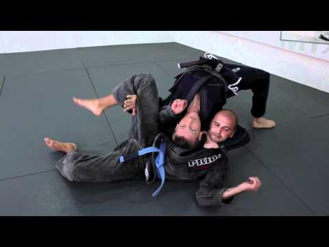 0 Loop choke Combo   BJJ technique with black belt Dennis Asche