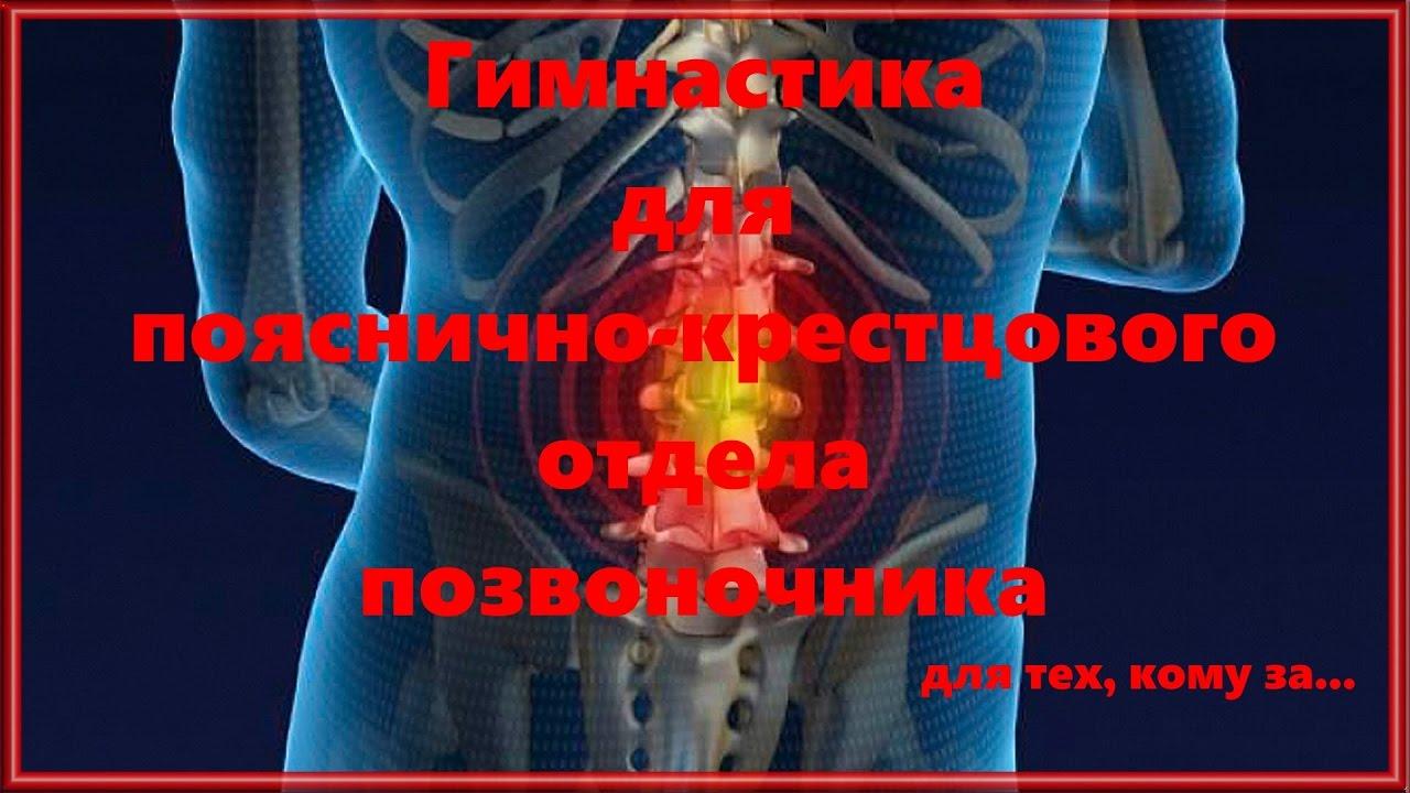 Гимнастика при остеохондрозе пояснично-крестцового отдела