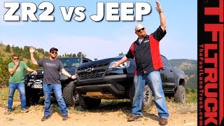 Chevy ZR2 vs Jeep vs Cliffhanger 2.0: Our Toughest Off-Road Test