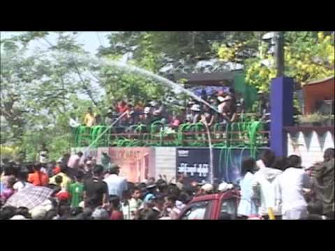 Water Festival in Myanmar (Burma) 2010 - These Burmese can really...