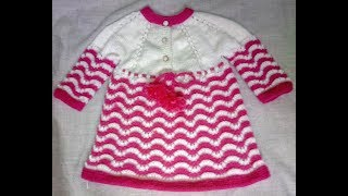 Easy Woolen Frock for Girls (1-2 yr) लड़कियों के लिए फ्रॉक | Hindi