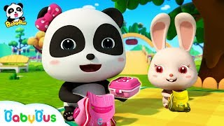 Baby Panda's Spring Picnic   Sharing Song for Kids   BabyBus Toys, Cooking Pretend Play   BabyBus