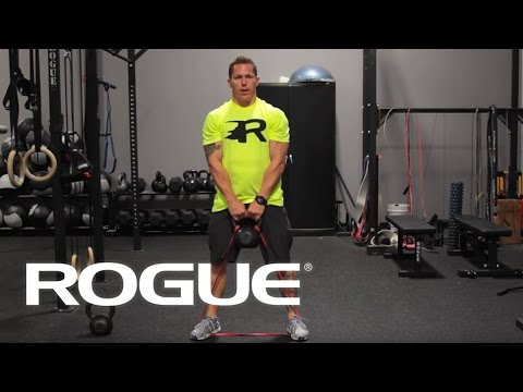 Equipment Demo - Banded Kettlebell Swing - Rogue Fitness