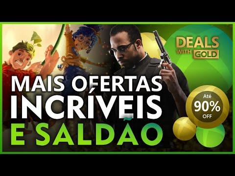 MAIS OFERTAS INCRÍVEIS e SALDÃO na XBOX LIVE! JOGOS DE XBOX ONE E 360 MUITO BARATOS!