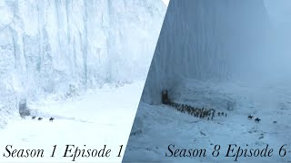 Game Of Thrones Beginning Vs. The Ending Scene