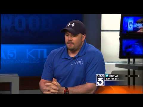 Bobsledder Steve Holcomb discusses his triumph over Keratoconus with KTLA News