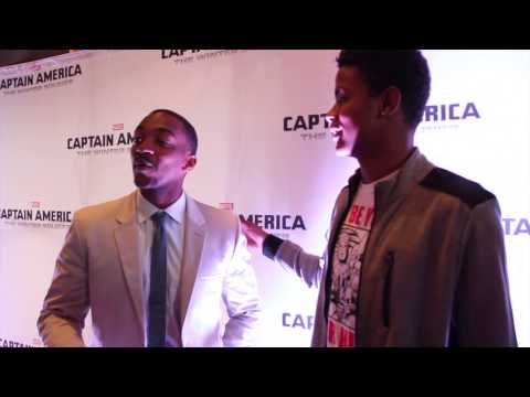 Anthony Mackie, Porsha Williams, Cynthia Bailey Attend Captain America 2 Atlanta Red Carpet