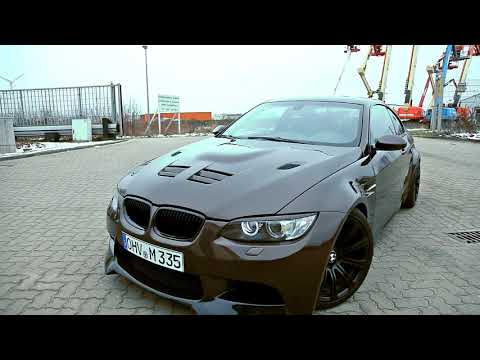 BMW M3 Exhaust Sound (335i Conversion) with Supersport Exhaust  & Fly by