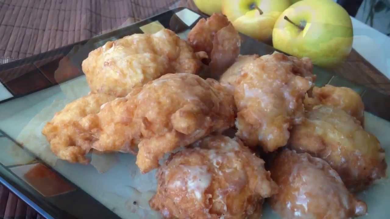 Apple fritter donut recipe youtube