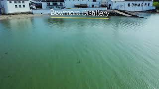 The Dram Drone Visits Bowmore Distillery