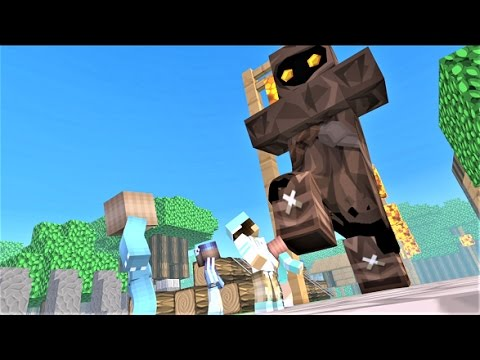 NEW MINECRAFT SONG: CASTLE RAID 6 - Minecraft Animations and Minecraft Music Video Series 2017