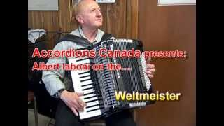 Roll Out The Barrel with a Weltmeister Topas III 96 Bass Accordion (Polka)