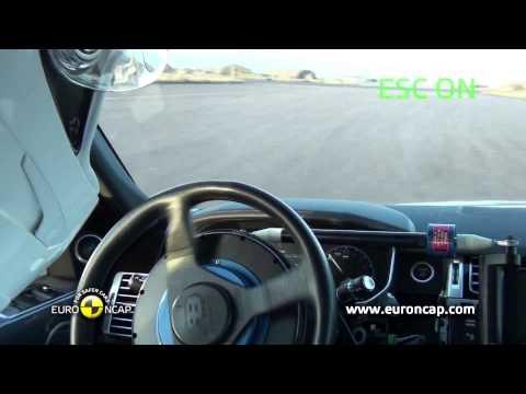 Euro NCAP | Range Rover  | 2012 | Электронный контроль устойчивости