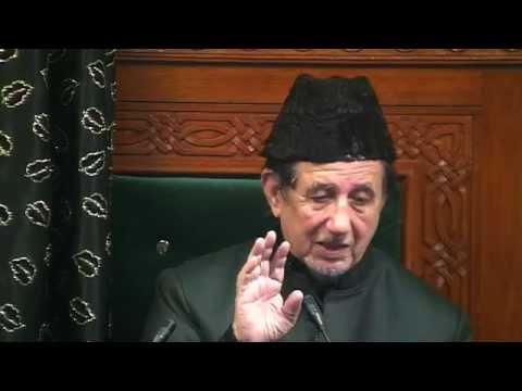 Eve 5th Muharram 1437 - Maulana Dr. Kalbe Sadiq (Urdu)
