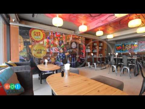 บรรยากาศโดยรวมของ Rock N Roll Sushi Cafe