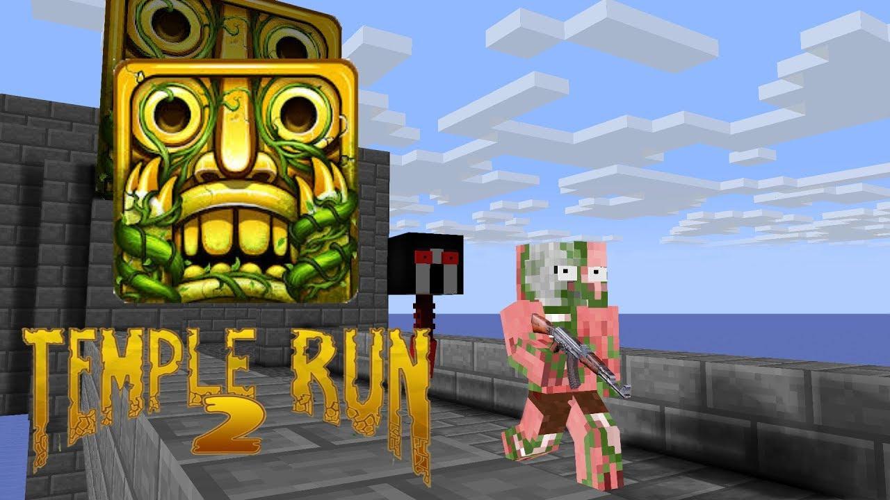 Monster School :TEMPLE RUN 2 - Minecraft Animation