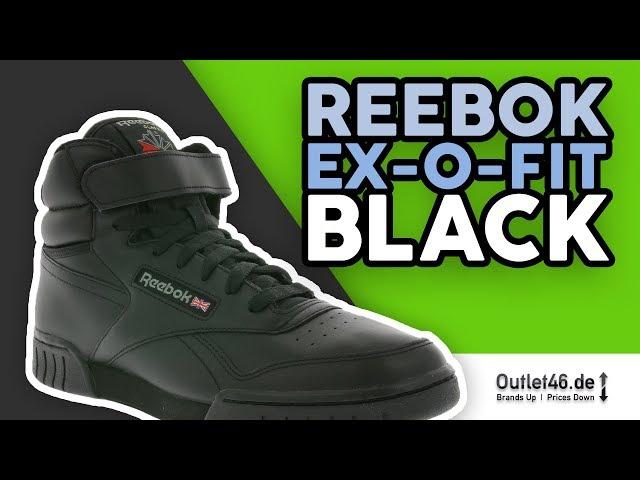 Reebok EX-O-Fit Hi l Wie Nike Air Force 1?  DEUTSCH l Review l On Feet l Overview l Outlet46
