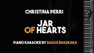 Jar Of Hearts Christina Perri Piano Karaoke Backing Track On Screen