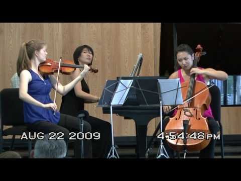 Mendelssohn Piano Trio No. 2, 2nd mvt