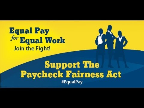 Landrieu calls for Paycheck Fairness Act