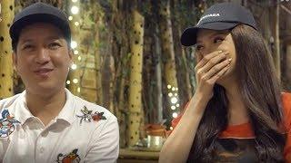 Sánh đôi với nhau trong gameshow, Trường Giang Hương Giang hài hước đặt tên con,nghe mà cười ngất !
