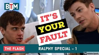 The Flash Season 4 Ralph Dibny best funny scenes -1 | Best Tv Moments