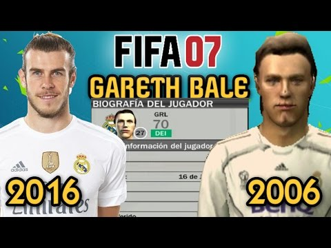 OMG!!! GARETH BALE EN FIFA 07!!!