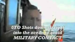 Portugese Fisherman footage of Military Jets going to Attack a UFO