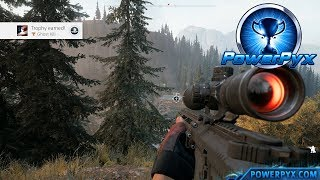 Far Cry 5 - Ghost Kill Trophy / Achievement Guide (150m Headshot)
