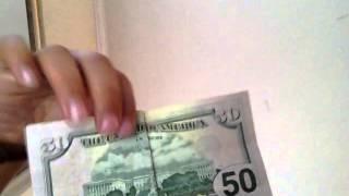 Illuminati 50 dollar bill