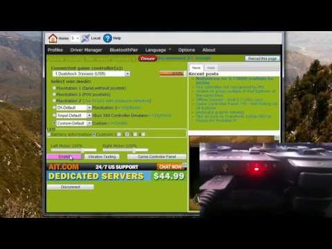 How To: Use A PS3 Controller On Your PC [Old]