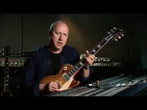 Mark Knopfler on guitar