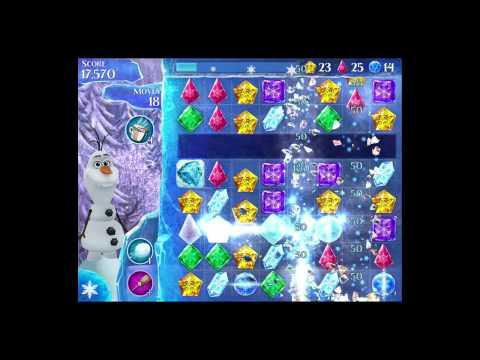 Disney Frozen Free Fall Level 120