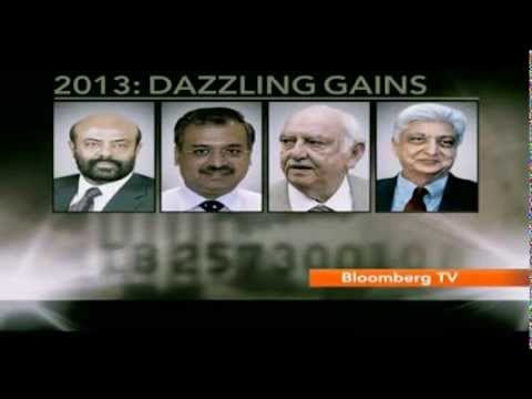 Bloomberg Richlist: 2013's Top Indian Gainers & Losers