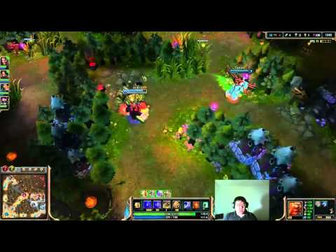 Scarra plays Gragas vs Syndra mid lane