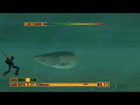 Rapala pro fishing 55ibs salmon king youtube for Rapala pro fishing