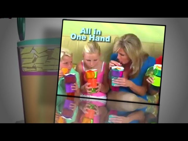 Mom's Check Out All-In-One Snack Cup, Indoor Soccer Toy