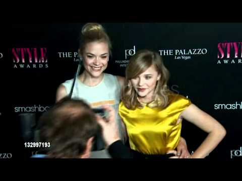 Jaime King and Chloe Moretz at the 2011 Hollywood Style Awards