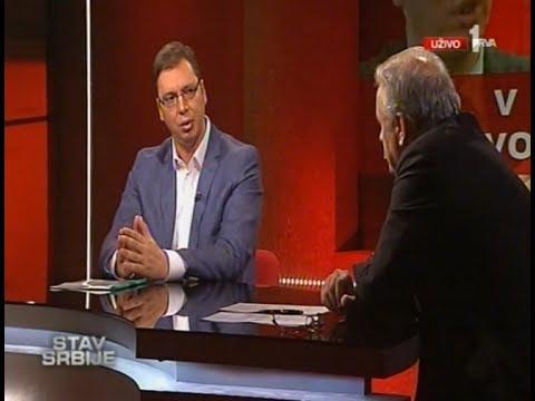 Aleksandar Vučić gost emisije Stav Srbije