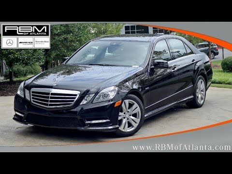 Used 2012 Mercedes-Benz E-Class E 350 Sport BlueTEC ATLANTA, GA M31973A