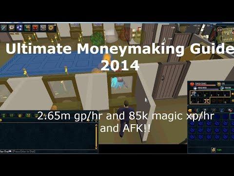 Runescape Ultimate Moneymaking Guide 2014 | 2.7m gp/hr + 85k magic xp/hr!! | (semi)AFK
