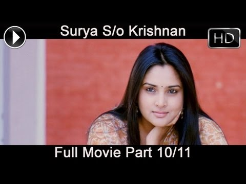 Surya Son Of Krishnan Telugu Full Movie Part 10 11 (surya, Sameera Reddy, Simran) video