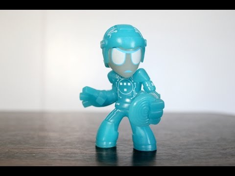 Glow in the Dark Tron Funko Science Fiction Mystery Mini review