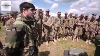 Armenian, Bulgarian, Romanian & US Militaries Check Out Each Other