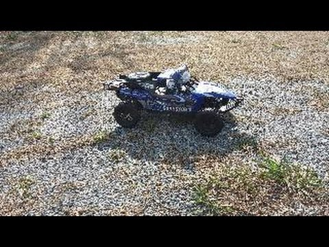 RedCat Sandstorm 1/10 Scale Electric Baja Buggy Out Of Box Run