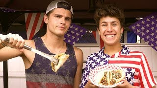 MY FIRST 4TH OF JULY!! | Juanpa Zurita & Twan Kuyper