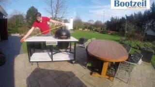 Maathoes Basterd, BGE, Kamado keuken inmeetinstructie