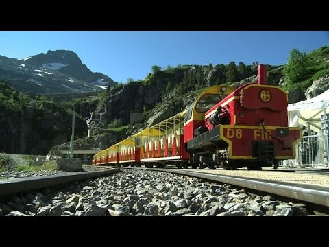 Europe's Highest Train Turns 80 In French Pyrenees video