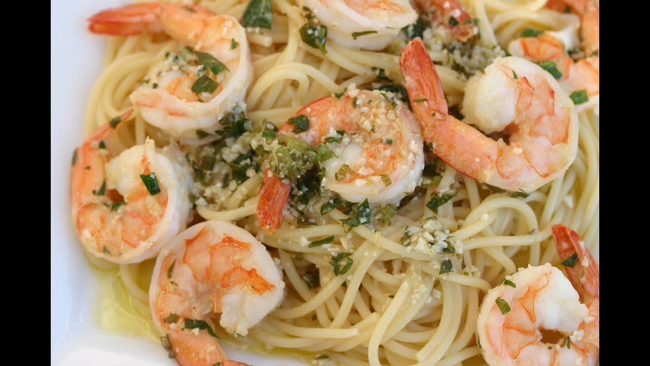 Shrimp Scampi - A Delicious Italian Pasta Dish With Lot's Of Garlic ...